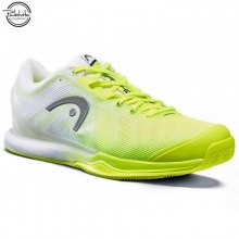 ZAPATILLAS DE PADEL HEAD SANYO SPRINT PRO 3.0 AMARILLO BLANCO