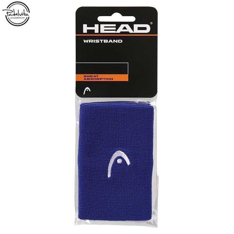 MUÑEQUERA DE PADEL HEAD AZUL 5
