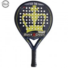 PALA DE PADEL BLACK CROWN WOLF
