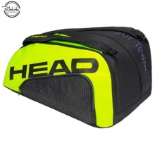 PALETERO DE PADEL HEAD TOUR TEAM MONSTERCOMBI NEGRO AMARILLO