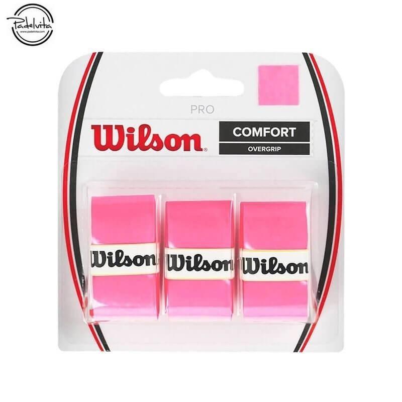 BLISTER WILSON 3 OVERGRIPS PRO ROSA