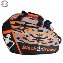 PALETERO DE PADEL BLACK CROWN WORK NARANJA