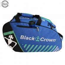 PALETERO DE PADEL BLACK CROWN WORK AZUL