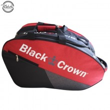 PALETERO DE PADEL BLACK CROWN CALM ROJO