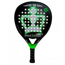 PALA DE PADEL BLACK CROWN PITON ATTACK 12K