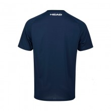 CAMISETA HEAD PERFORMANCE AZUL OSCURO TURQUESA