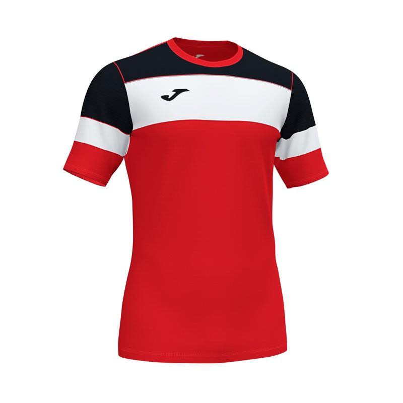 Camiseta Joma Crew IV Azul Marino Rojo