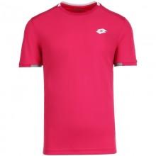 Camiseta Lotto Squadra Rosa Glamour