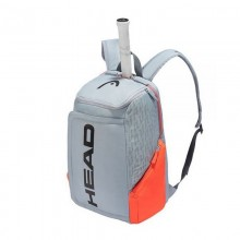 MOCHILA HEAD REBEL GRIS NARANJA