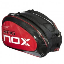 PALETERO NOX  AT10 TEAM NEGRO LOGO ROJO