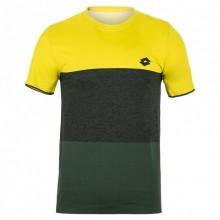 Camiseta Lotto Tech Seamless Coral Negro M