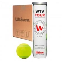 Cajon de 72 Pelotas - 18 Botes X 4 Pelotas Wilson WTV Tour