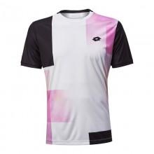 Camiseta Lotto Top Ten III Blanco Print