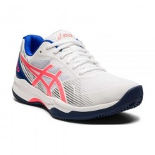 Asics Gel Game 8 Clay Blanco Coral