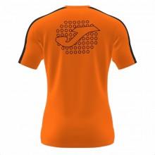 Camiseta Joma Padel Pala Naranja Negro