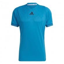 Camiseta Adidas FreeLift PrimeBlue Sonic Aqua