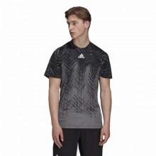 Camiseta Adidas FreeLift PrimeBlue Negro Gris
