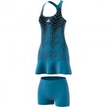 Vestido Adidas PrimeBlue PR Sonic Aqua