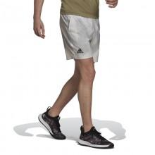 Short Adidas Printed Blanco Gris