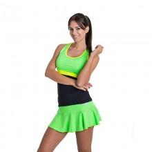Falda BB Basica Lima Verde Fluor