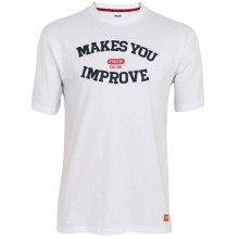 Camiseta Algodon Nox Basic Blanco Marino