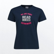 Camiseta Head Skip Azul Oscuro
