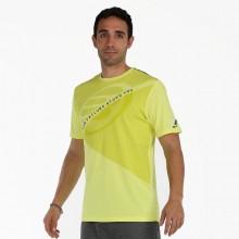 Camiseta Bullpadel Kareni Amarillo Azufre Fluor