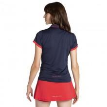 Polo Nox Pro Azul Rojo Mujer