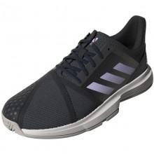 Zapatillas Adidas Game Court Gris Purpura Mujer