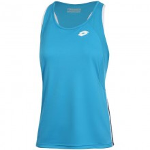 Camiseta Lotto Squadra II Azul Bay Mujer