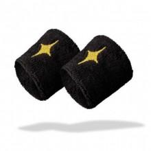 Munequeras StarVie Negro Dorado 2 Unidades