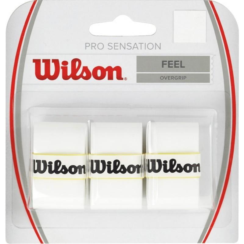 BLISTER WILSON 3 OVERGRIPS SENSATION BLANCO