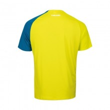 CAMISETA HEAD STRIKER AMARILLO