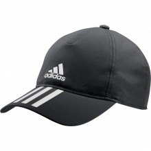 GORRA ADIDAS AERO READY BASEBALL 3 STRIPES NEGRO