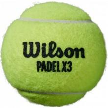 BOTE DE PELOTAS WILSON PADEL X3 SPEED 1 UNIDAD
