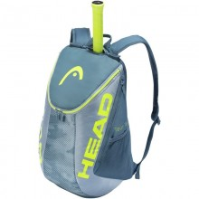 MOCHILA HEAD TOUR TEAM EXTREME GRIS AMARILLO FLUOR