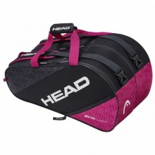PALETERO HEAD ELITE PADEL SUPERCOMB ANTRACITA ROSA