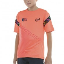 CAMISETA BULLPADEL SIPRE POMELO FLUOR JUNIOR