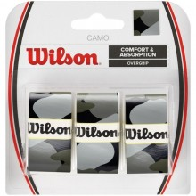 BLISTER WILSON 3 OVERGRIPS PRO CAMO GRIS
