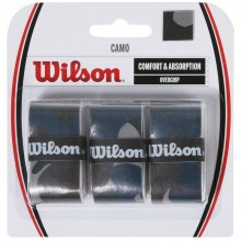 BLISTER WILSON 3 OVERGRIPS PRO CAMO AZUL