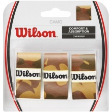 BLISTER WILSON 3 OVERGRIPS PRO CAMO MARRON